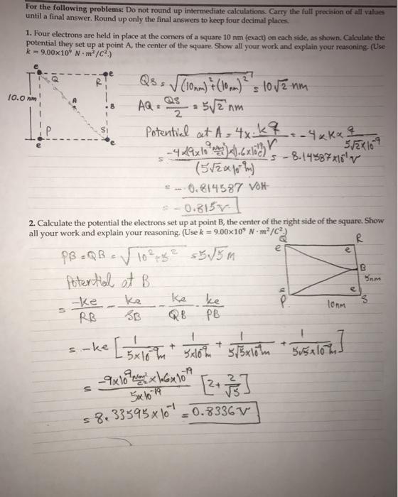 Advanced Physics Archive March 06 2017 Chegg