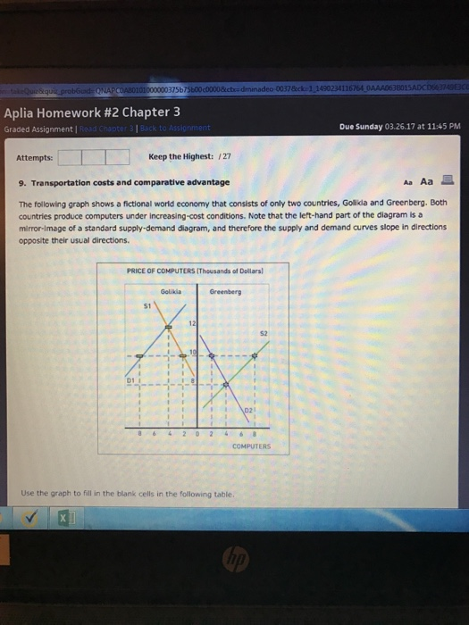 aplia assignment Aplia homework assignments   because of how the on-line homework is set up in aplia and by aplia,  the first 1 assignment relate to chapter 6.