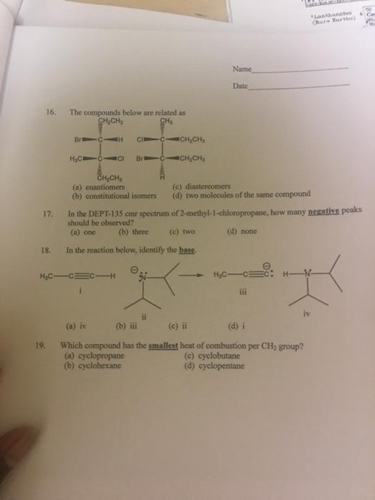 Chemistry Archive