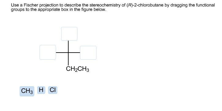 describe the st... R 2 Chlorobutane