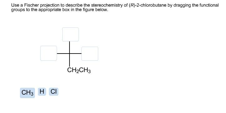 describe the st... R 2 Chlorobutane