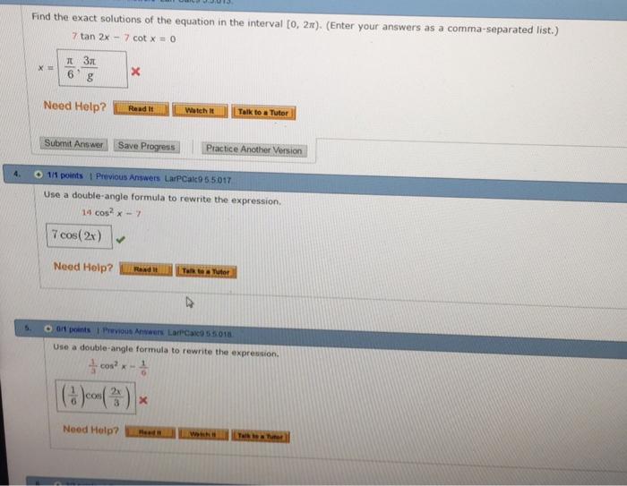 trigonometry archive