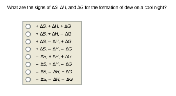 Please help for Delta h table chemistry
