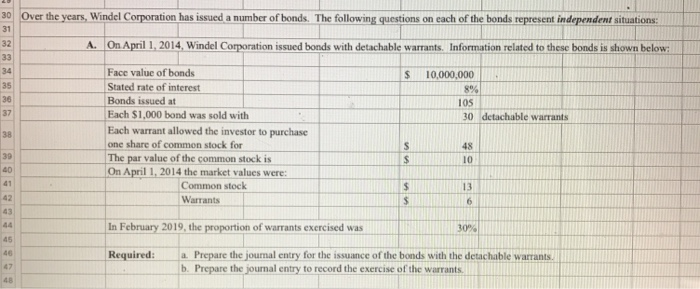 Accounting archive march 17 2018 chegg 0 over the years windel corporation has issued a number of bonds the following fandeluxe Choice Image