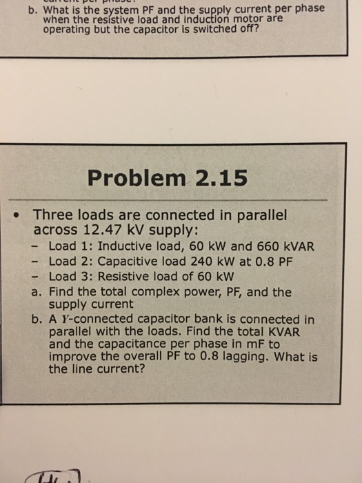 how to find current from kvar