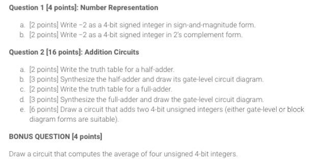 solved number representation write 2 as a 4 bit signed i. Black Bedroom Furniture Sets. Home Design Ideas