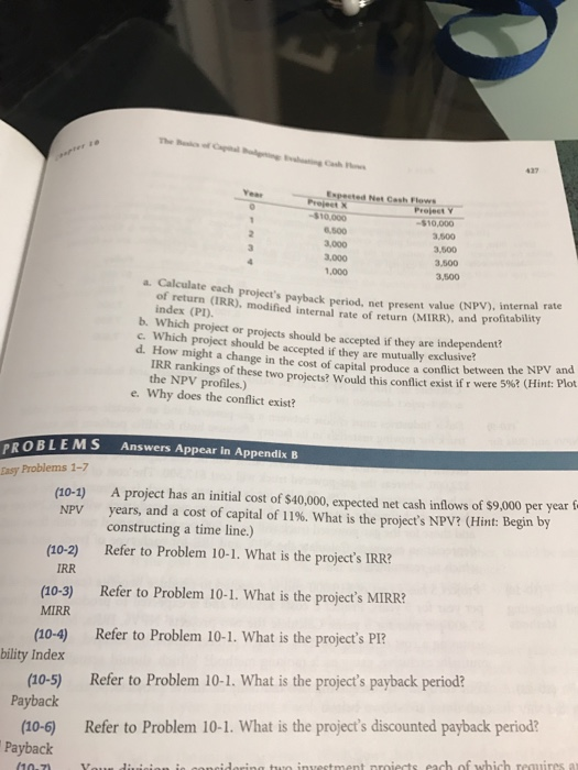 """net present value npv payback period Payback period, or """"payback method,"""" is one popular metric that is frequently  used as an alternative to net present value it is much simpler than npv, mainly."""