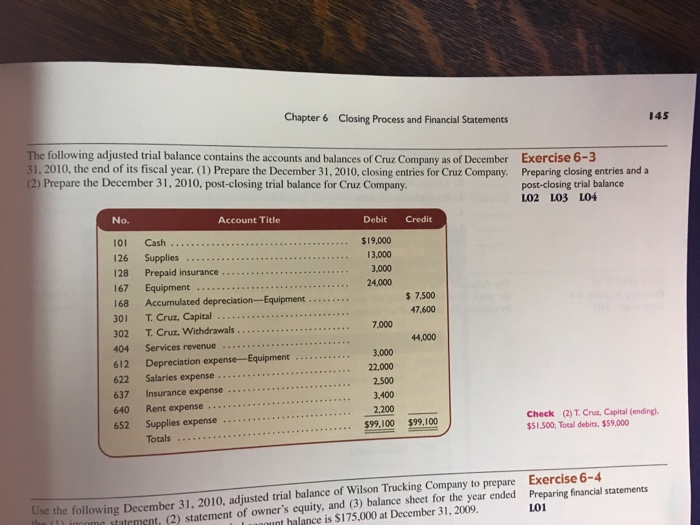 how to find capital in trial balance