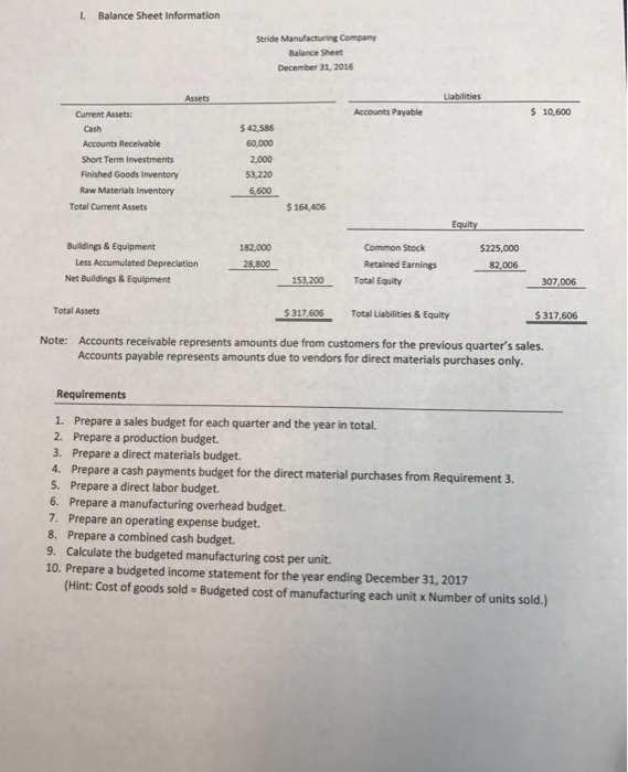 balance sheet and factory overhead Chapter 2 key points  balance sheet: debit: credit:  at the end of the period, the actual overhead costs (debits to factory overhead).