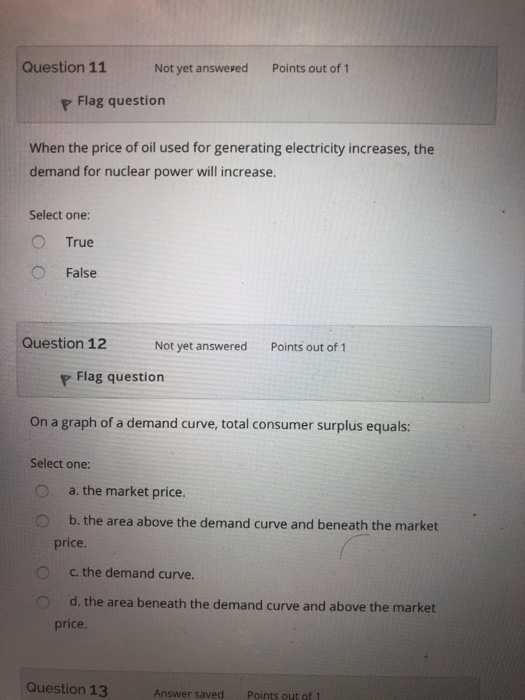 Economics archive february 01 2018 chegg question 11 not yet answesed points out of 1 p flag question when the price of fandeluxe Choice Image