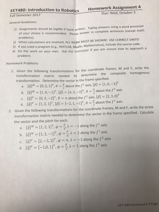 Advanced physics archive september 25 2017 chegg 1 answer eet480 introduction to robotics fall semester 2017 general guidelines homework assignment 4 due fandeluxe Gallery