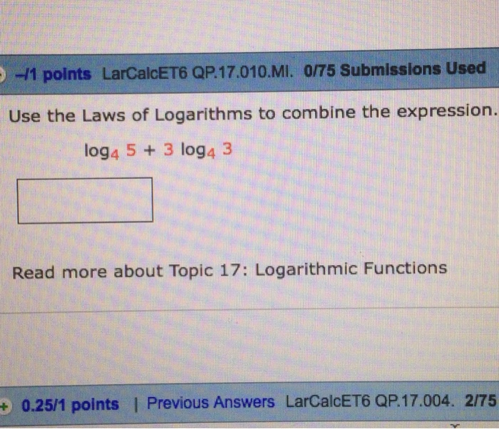 how to use logarithms use of