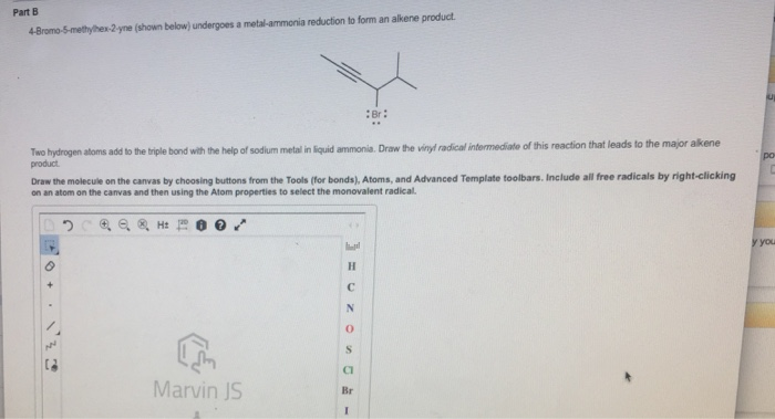 Solved 4 Bromo 5 Methylhex 2 Yne Shown Below Undergoes
