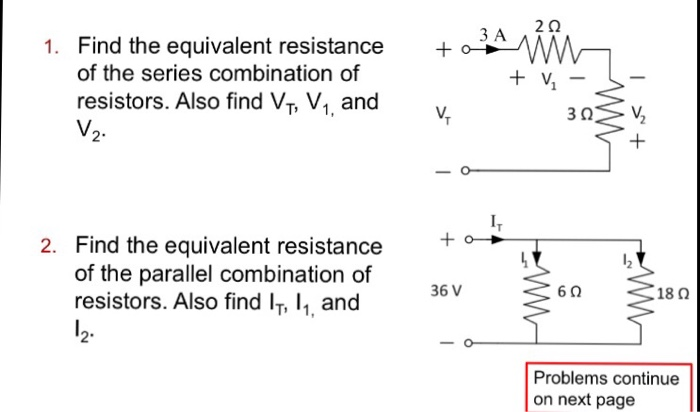 Questions on series and parallel combination of resistors