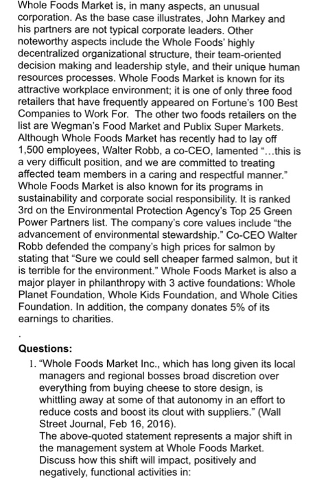 hr compensation job structure of whole foods The typical whole foods market human resources generalist salary is $24 human resources generalist salaries at whole foods market can range from $21-$27.