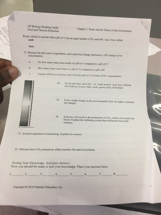 ap biology reading guide fred and theresa holtzclaw chapter 54 answers