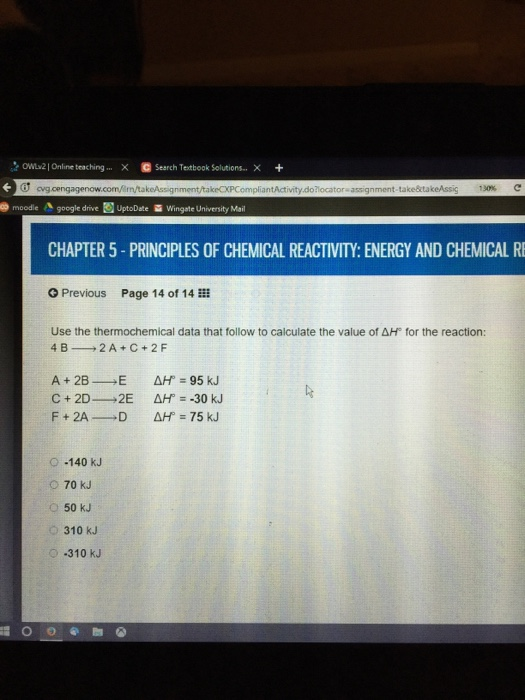 Chemistry archive april 01 2017 chegg owuv2 l online teaching x search textbook solutions x pliantactivity dohocatora assignment taketakeassig 130 e ode a google drive uptodate m wingate fandeluxe Choice Image