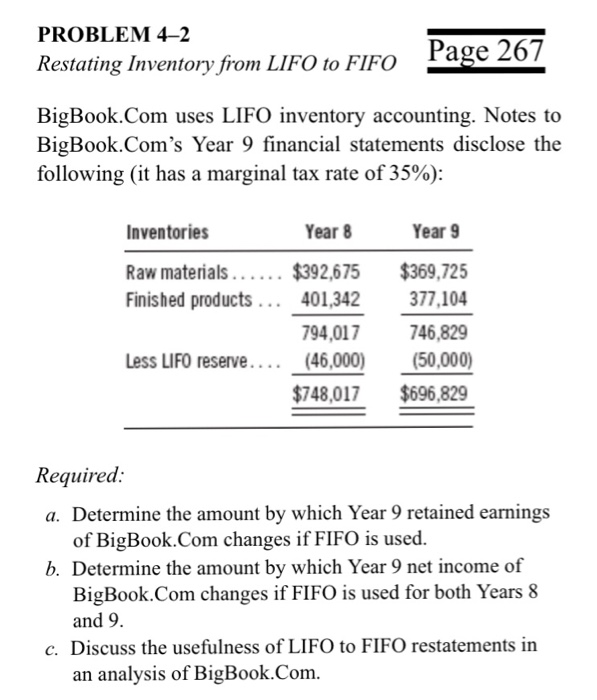 summary for lifo method Summary this statement amends apb opinion no 28, interim financial  a  company changes to the last-in, first-out (lifo) method of inventory pricing but  is.