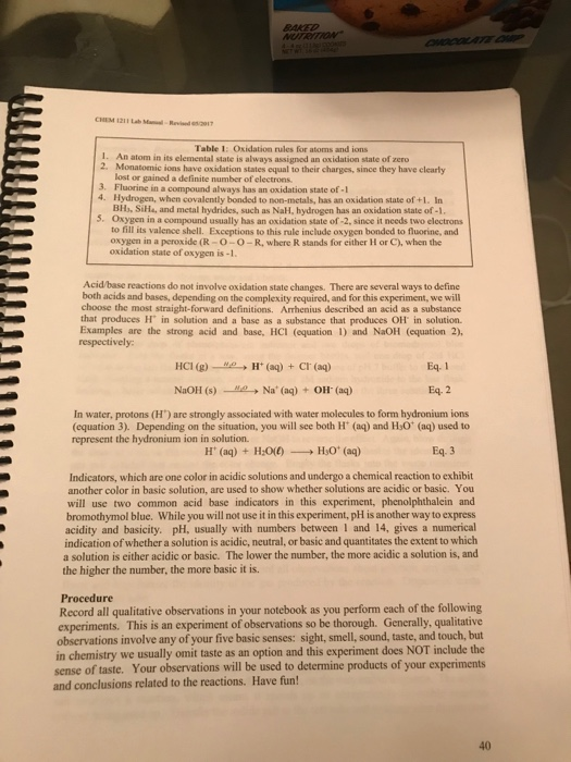 introduction to chemistry lab manual answers