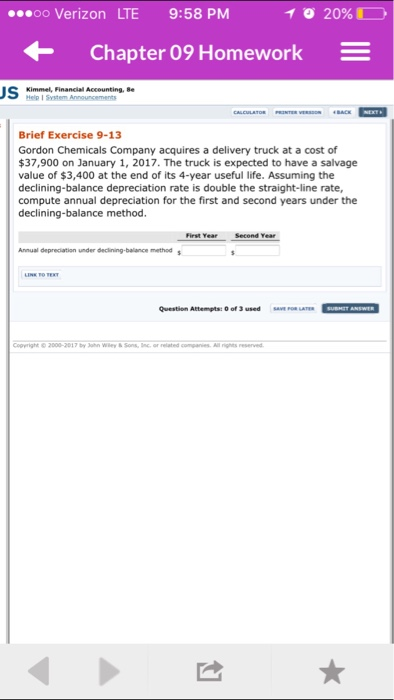 Financial accounting 110 homework help