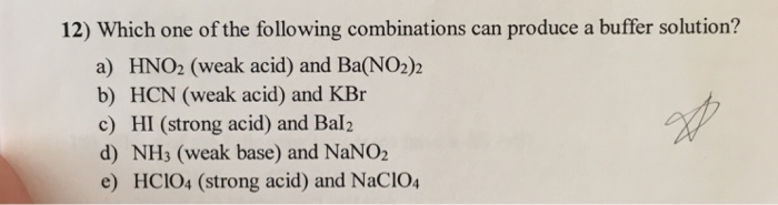 how to produce a buffer solution