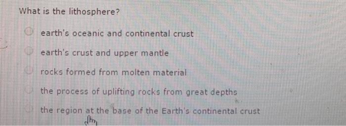 Science earths crust mantle homework help