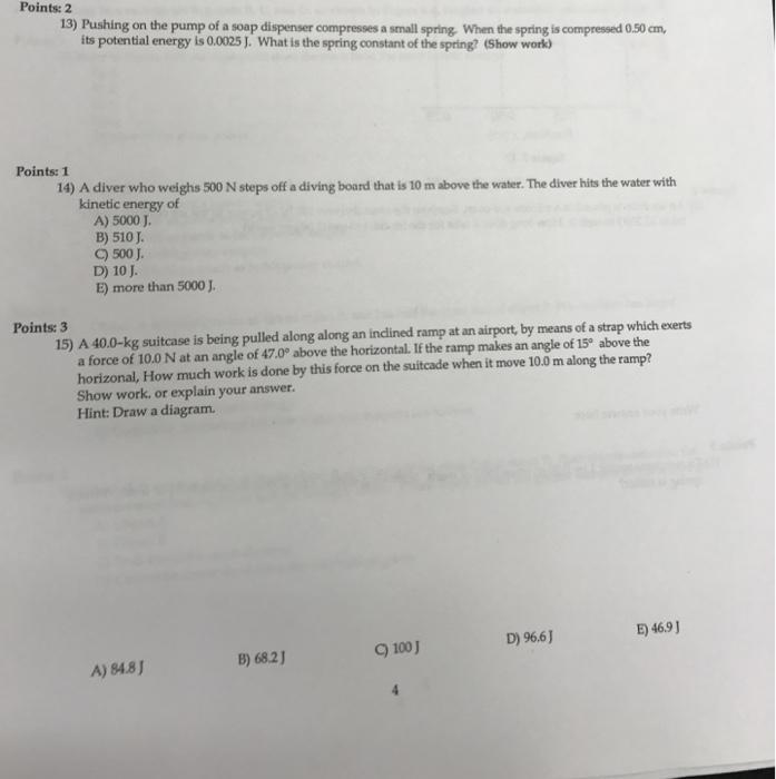 spring letter j physics archive june 27 2017 cheggcom
