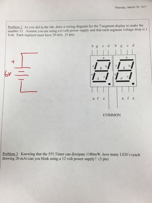 Solved  As You Did In The Lab  Draw A Wiring Diagram For T