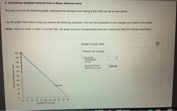 how to find marginal revenue on a graph