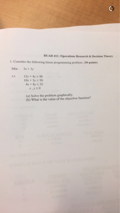 practical questions and answers in linear programming Questions on solving linear equations questions with answers.