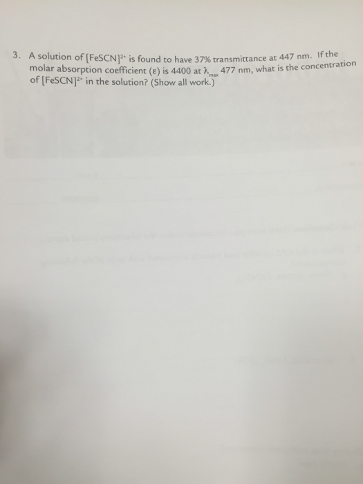 chem lab word determination of the