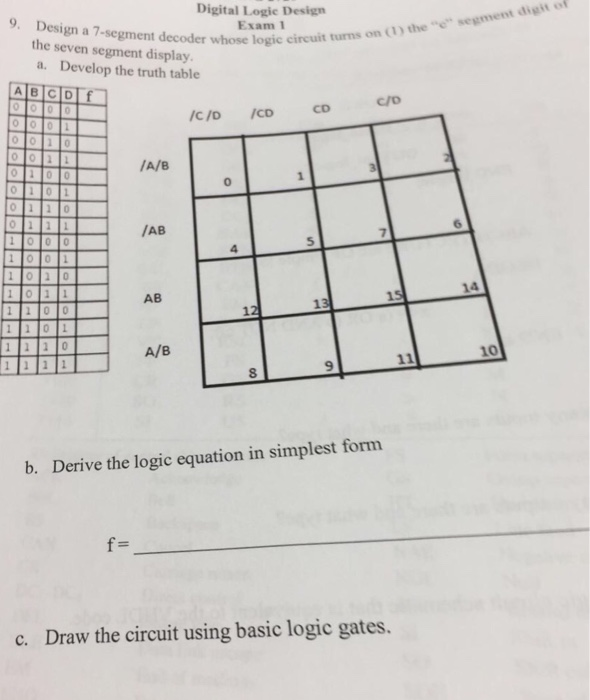 solved  design a 7