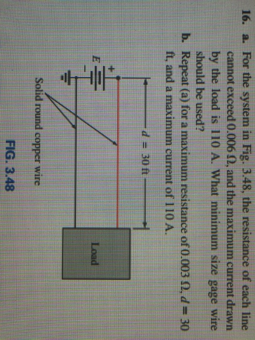 Solved: A. For The System In Fig. 3.48, The Resistance Of ...