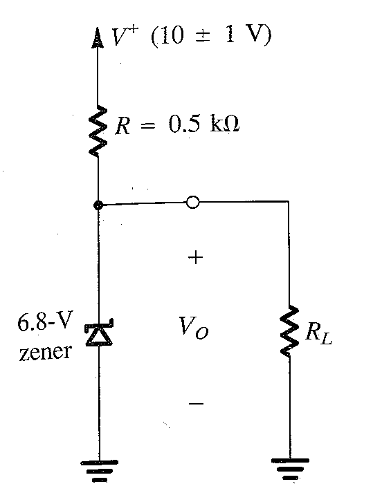 1  using the practical diode model for thecircuit shown in figure below  find the values of the
