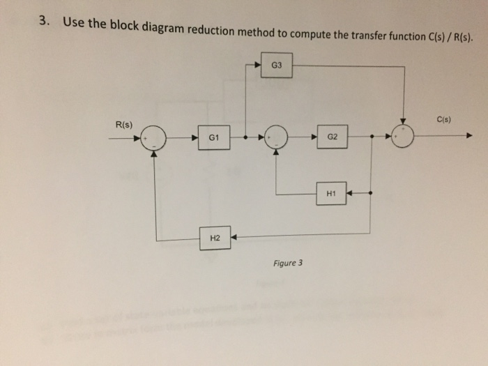 3 use the block diagram reduction method to compu chegg use the block diagram reduction method to compute the transfer function cs ccuart Gallery