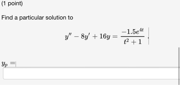 how to find particular solution