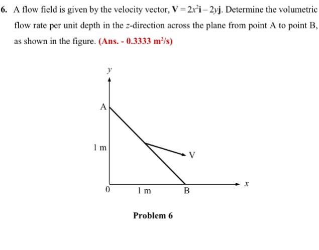 A flow field is given by the velocity vector v 2 chegg a flow field is given by the velocity vector v 2ri 2yj ccuart Choice Image