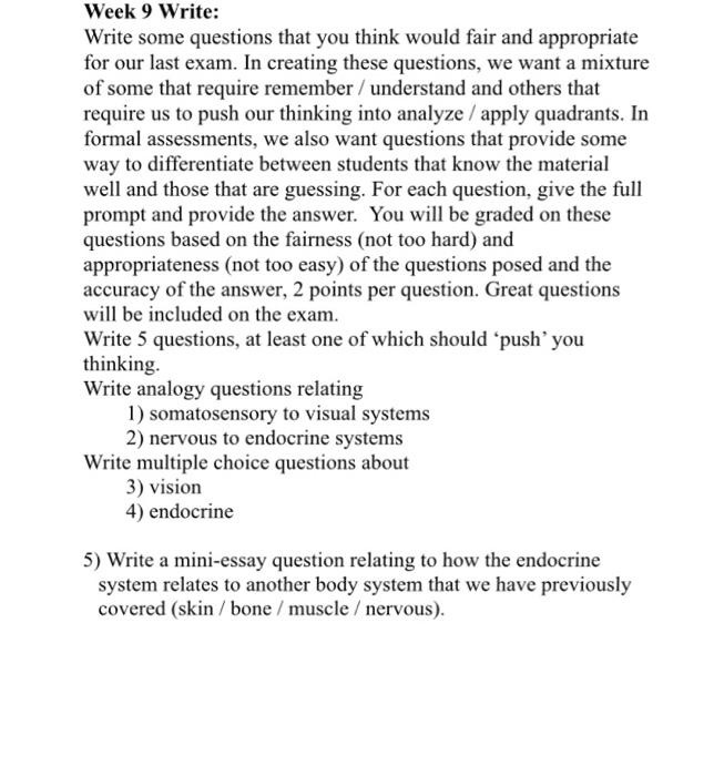 essay questions on the endocrine system Question: a student is in a car accident, and although not hurt, immediately experiences pupil dilation, increased heart rate, and rapid breathing what type of endocrine system stimulus did the student receive.