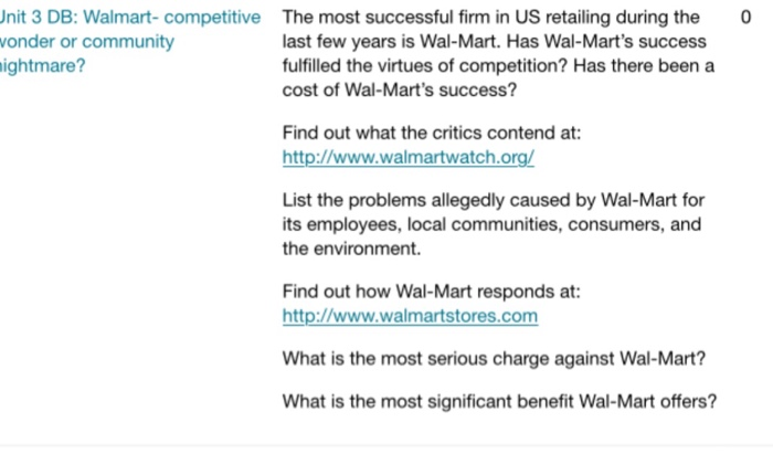 most serious charge against wal mart Connecting decision makers to a dynamic network of information, people and ideas, bloomberg quickly and accurately delivers business and financial information, news and insight around the world.