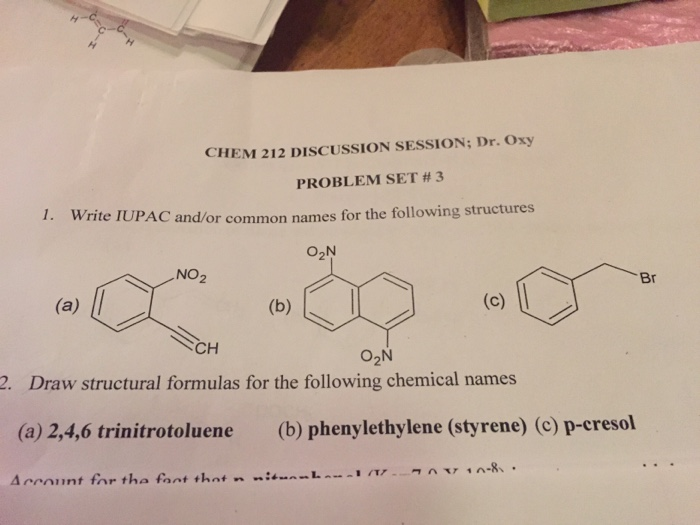 How to write iupac name in chemistry