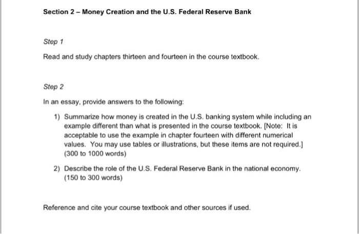 the role of money in the u.s. economy essay The new nation's economy the us constitution,  create money and regulate its value,  the government continued to play a crucial role in the nation's economy.