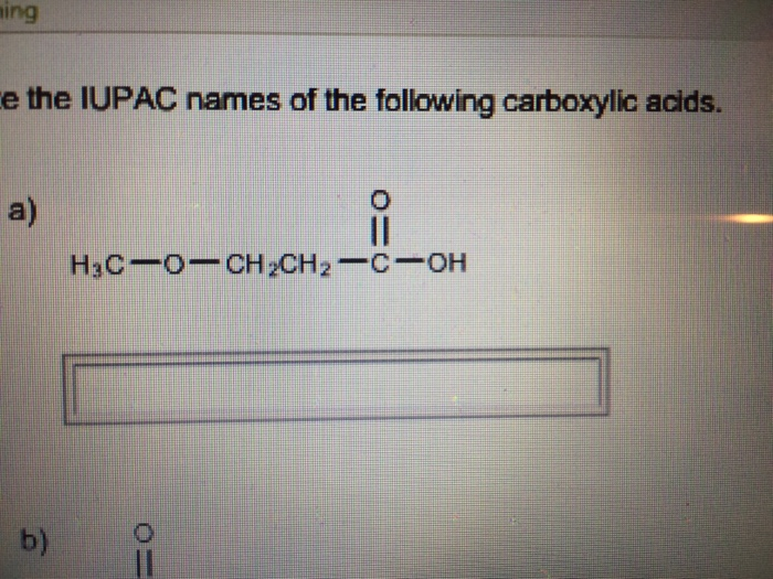 carboxylic acid essay Used to determine the primary and secondary alcohol 2 provide the type equation used in chromic acid test answers: primary alcohols alcoholaldehydescarboxylic acid note: a mixture of sodium dichromate or potassium dichromate in dilute sulfuric acid and acetone can also be used as jones reagent.