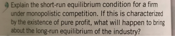 how to calculate short run equilibrium
