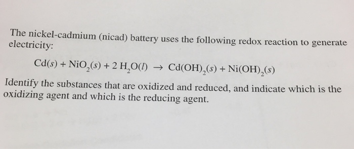 The Nickel-cadmium (ni...