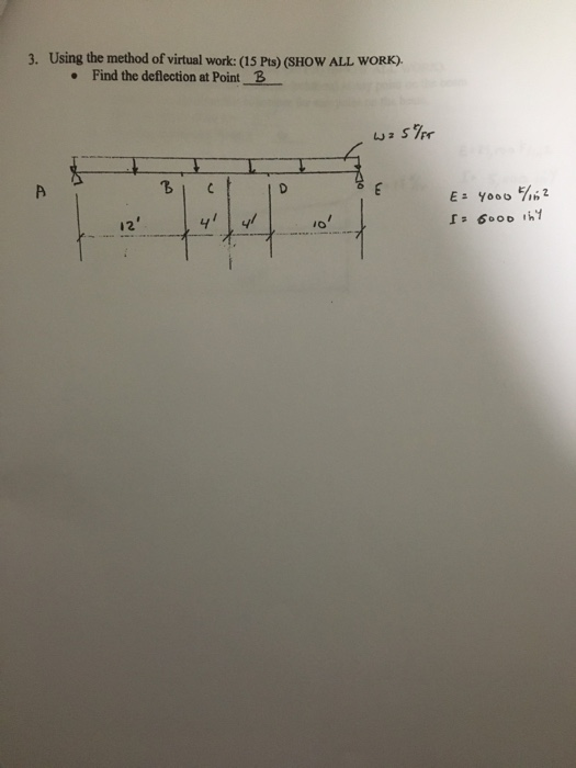 Civil engineering archive november 21 2017 chegg 3 using the method of virtual work 15 pts show all fandeluxe Choice Image