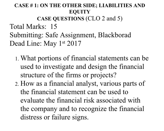 how financial assets can be evaluated