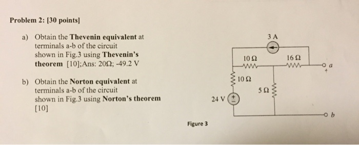 thevenin and norton theorem solved problems pdf