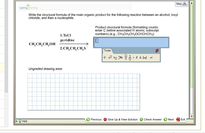 write structural formulas