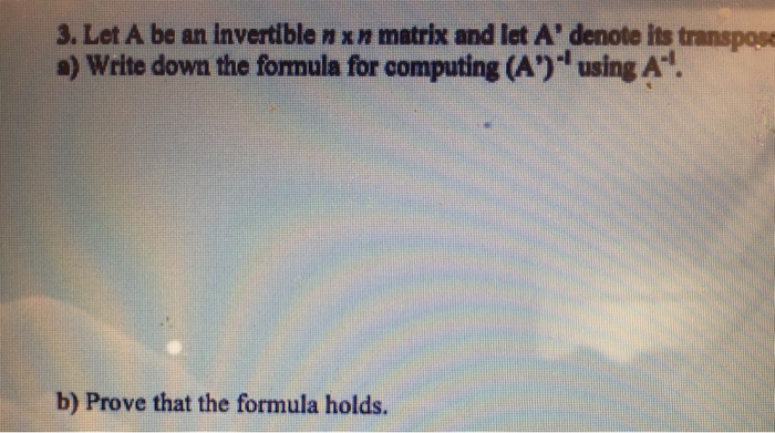 how to find an invertible matrix