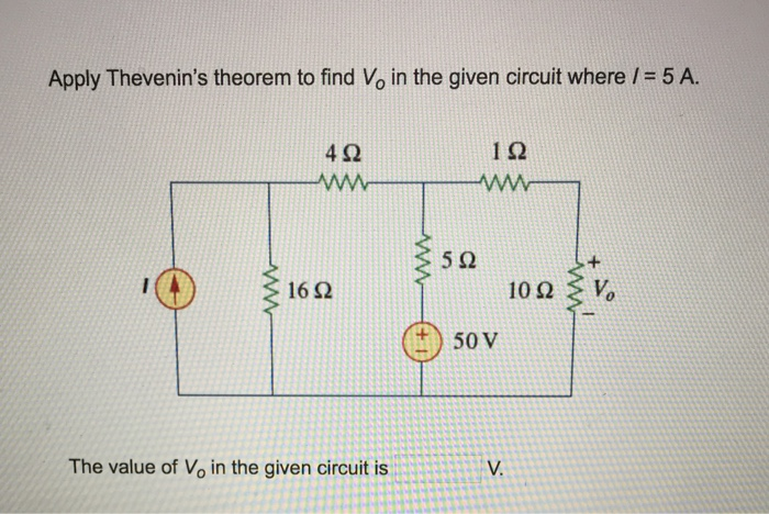 application of thevenin theorem essay application there are some applications of thevenin's theorem in our daily lives thevenin's theorem is very useful to reduce a network with several voltage sources and resistors to an equivalent circuit composed a single voltage source and a single resistance connected to a load only.